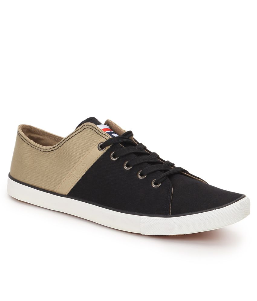 Fila Ristoro Black Casual Shoes - Buy Fila Ristoro Black ...
