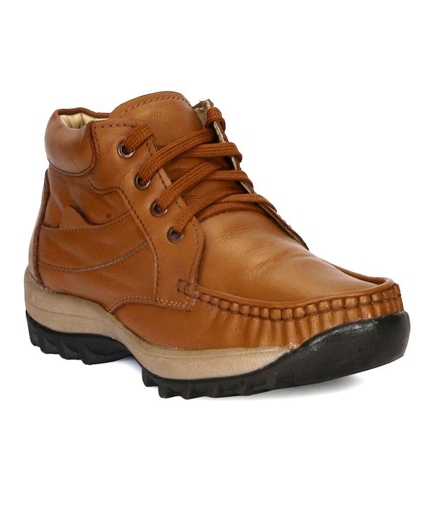 Funku Fashion Tan Boots
