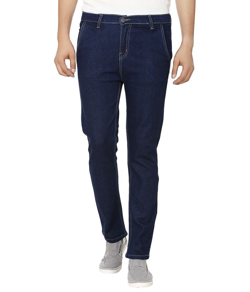 Club Vintage Blue Slim Fit Jeans