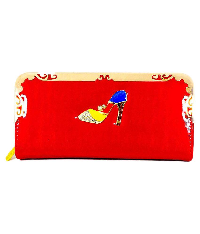 Velarudh Design Wallet - Red