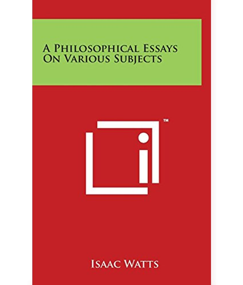 on philosophy essays on philosophy