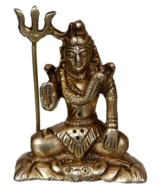 Bgroovy Brown Brass Shiva Idol