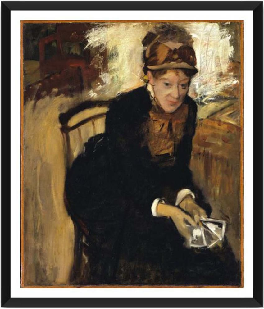 Tallenge Mary Cassatt Painting With Acrylic Frame