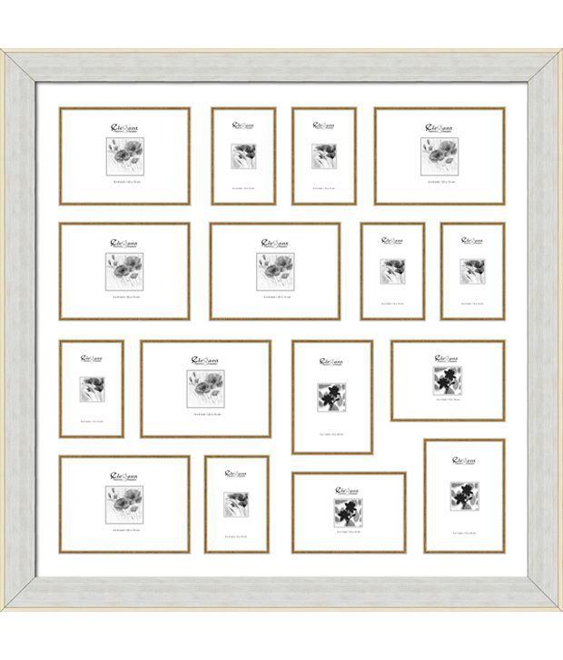 Elegant Arts & Frames 16 Pocket Collage Photo Frame