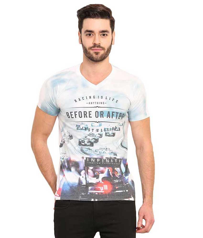Mode Vetements Multi V-Neck T Shirts