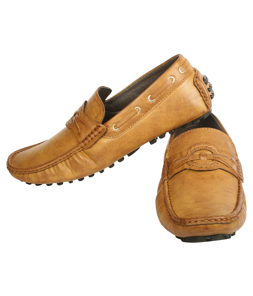 8b9b7a5a3b6 Bacca Bucci Tan Loafers - Buy Bacca Bucci Tan Loafers Online at Best ...