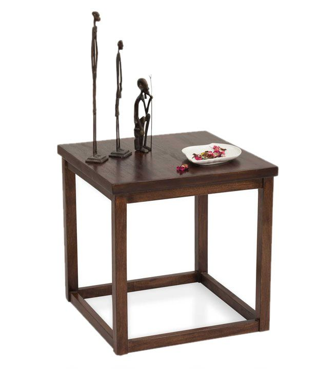 The Armchair Cotsworld Solid Wood End Table