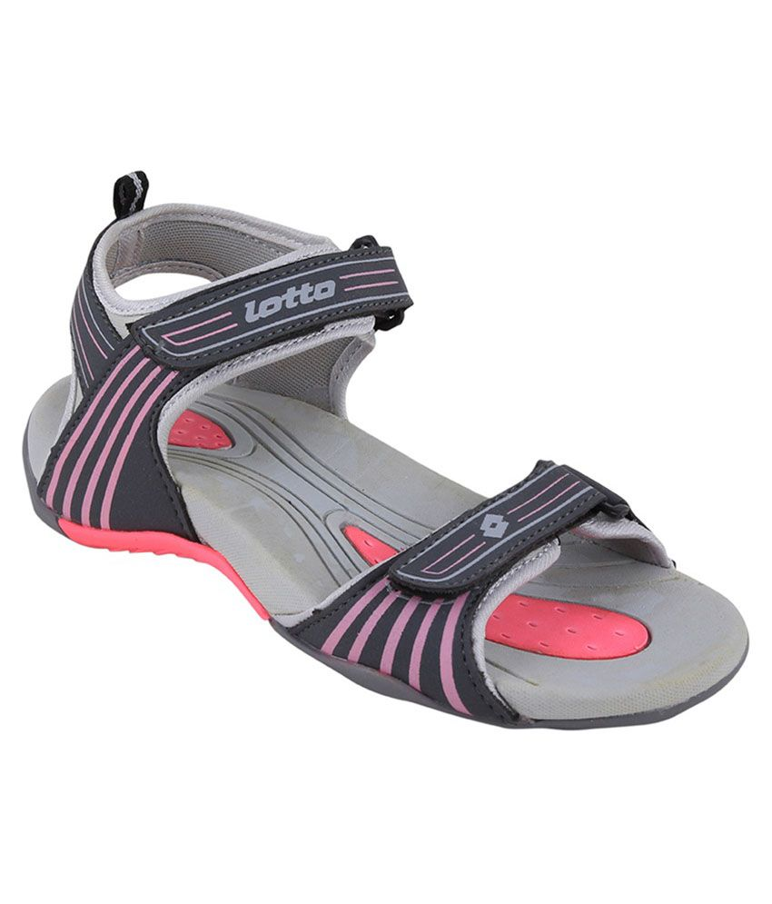 Lotto Neon Pink Women Floater Sandals