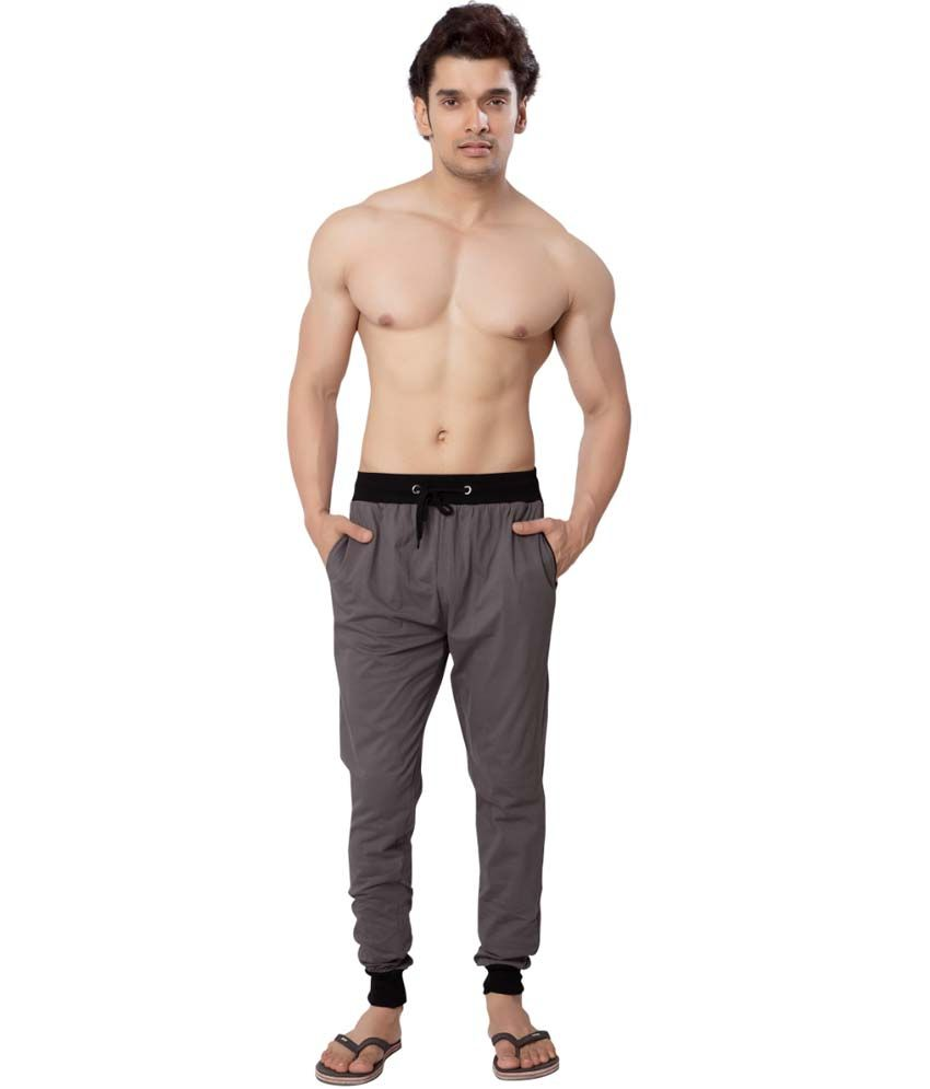 Clifton Fitness Men's Track Pant Slimfit -Steel Grey