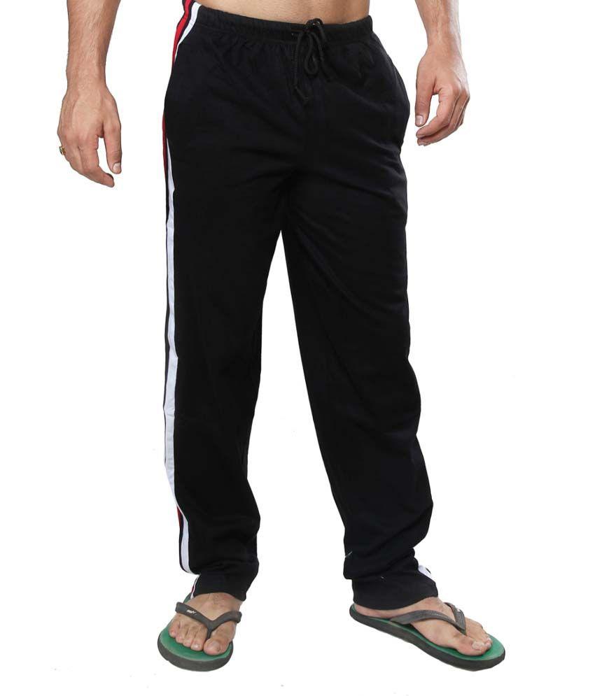 Clifton Fitness Men's Track Pants -Black
