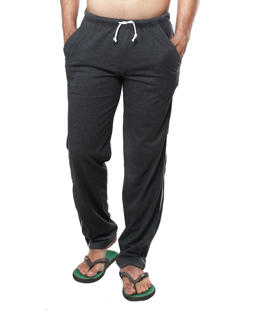 Clifton Fitness Men's Track Pants -Charcoal
