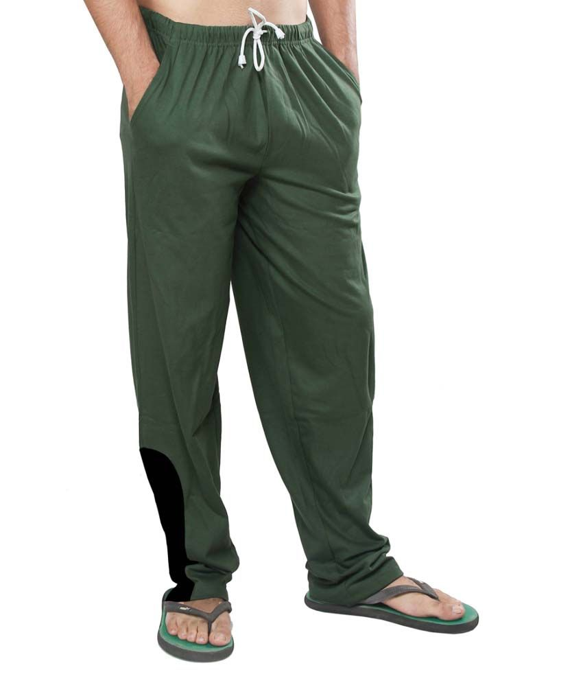 Clifton Fitness Men's Track Pants -Olive Green