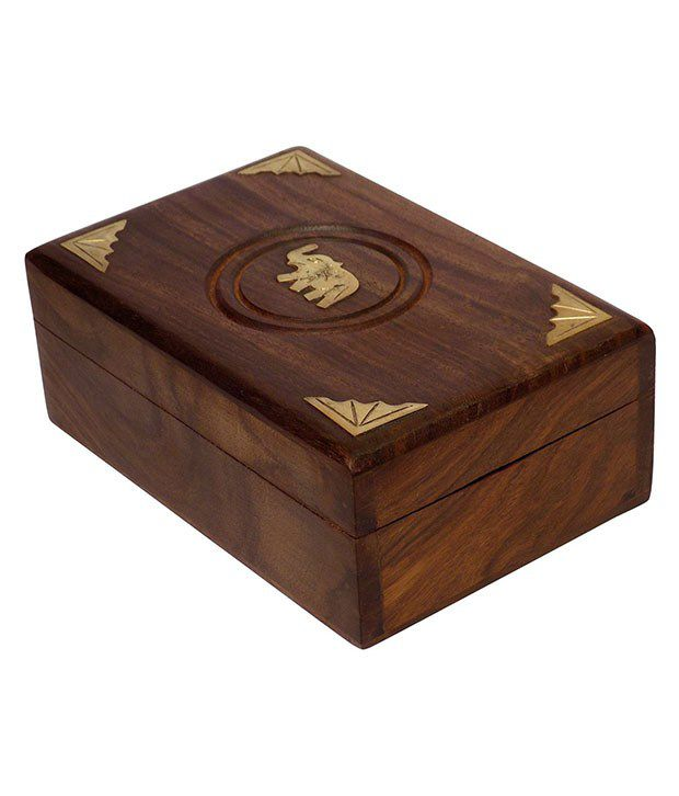 Crafts'man Antique Wooden Jewellery Box
