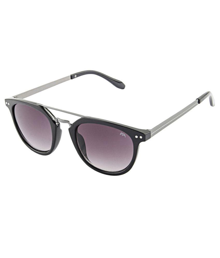 Farenheit Purple Wayfarer Sunglasses