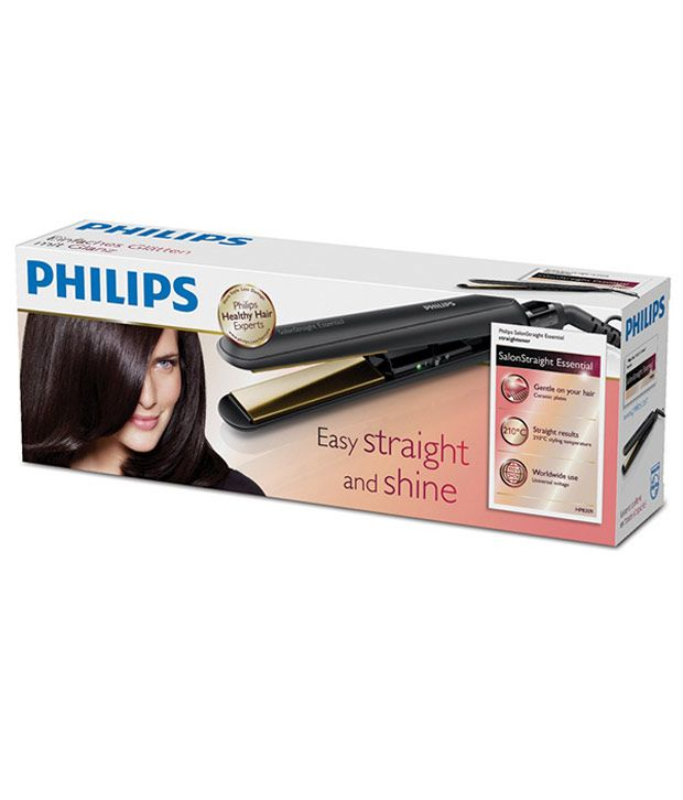 how to use philips hair straightener hp8309