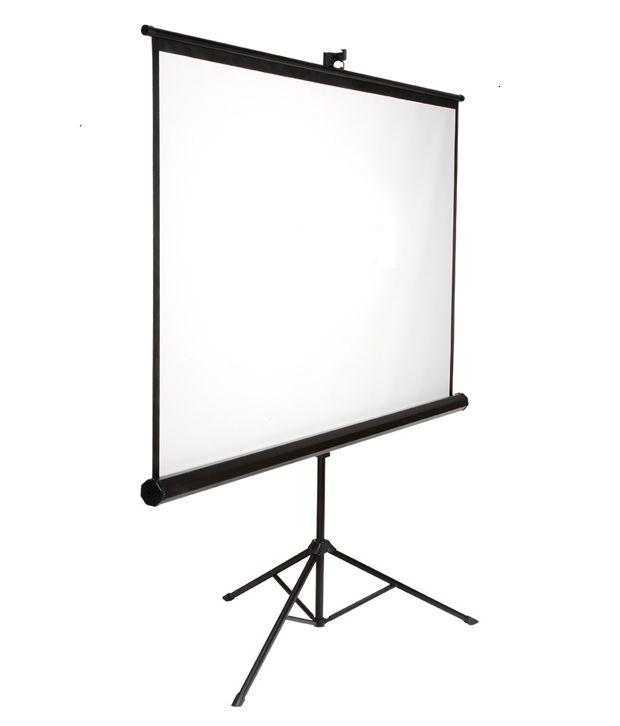 Buy Elcor Tripod Projector Screen 5x7 Online At Best