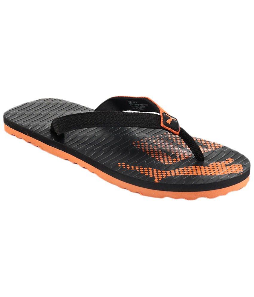 Puma Miami 6 Dp Black Orange Slippers Art P18839504 Price in India- Buy  Puma Miami 6 Dp Black Orange Slippers Art P18839504 Online at Snapdeal db35116de