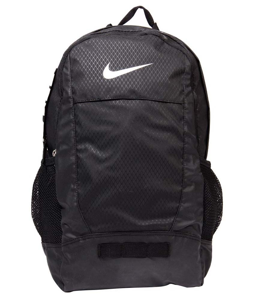 d5303fae752f24 Nike Black Backpack - Buy Nike Black Backpack Online at Best Prices in India  on Snapdeal