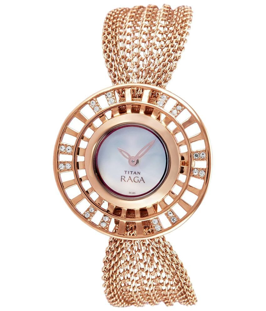 182e1087423 Titan Raga 9931WM01 Analog Watch Price in India  Buy Titan Raga 9931WM01  Analog Watch Online at Snapdeal