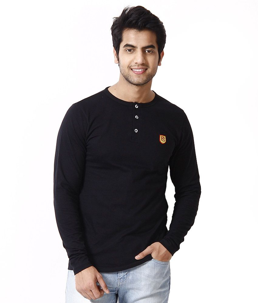 Black t shirt low price -  Free Spirit Multicoloured Cotton T Shirt Set Of 2