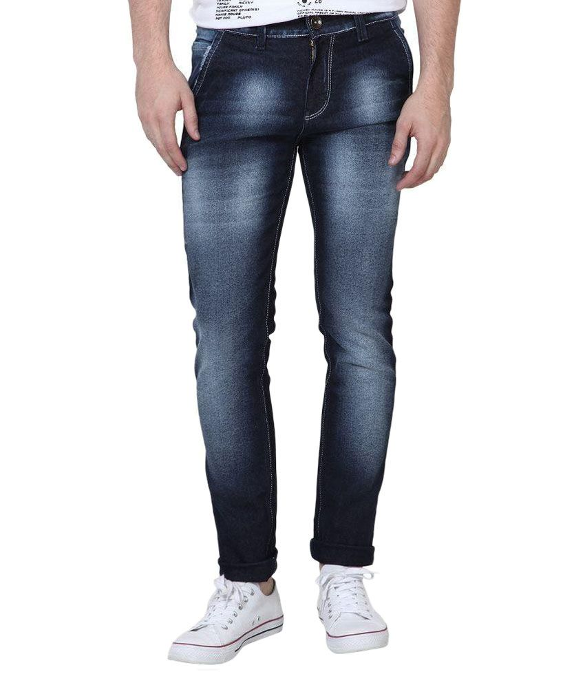 SuperX Blue Skinny Fit Jeans