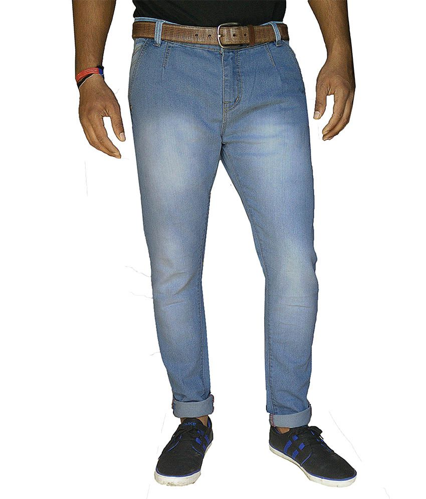 Damler Blue Slim Fit Jeans