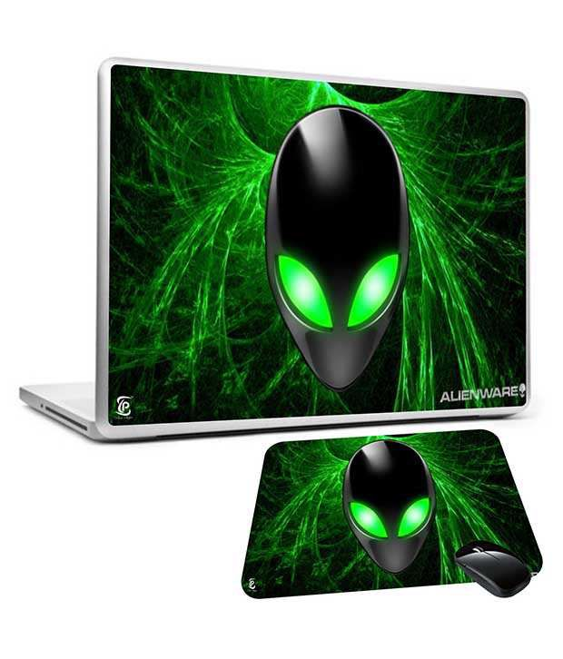 Print Shapes Print Shapes Alienware 15.6 Laptop Skin With Mousepad