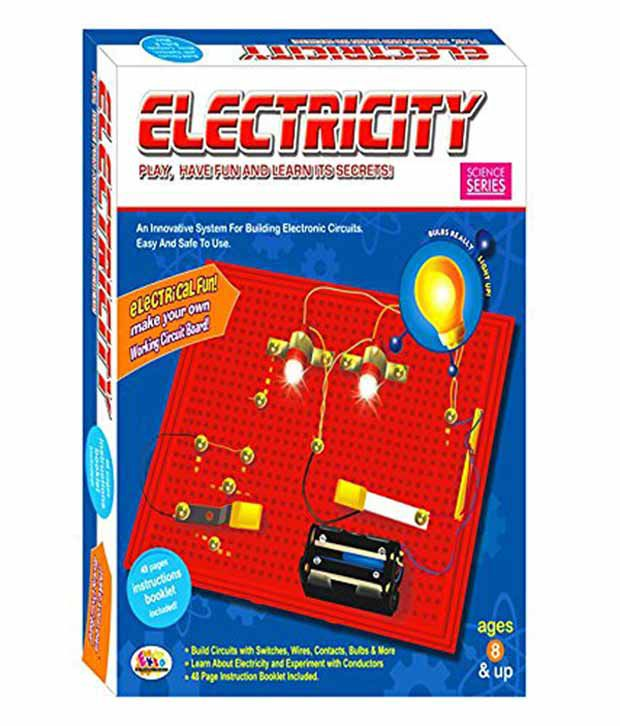 Funny Bunny Electricity Learning Board Game System For Building ...
