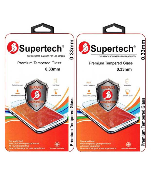 Samsung Galaxy On7 Tempered Glass Screen Guard by SUPERTECH