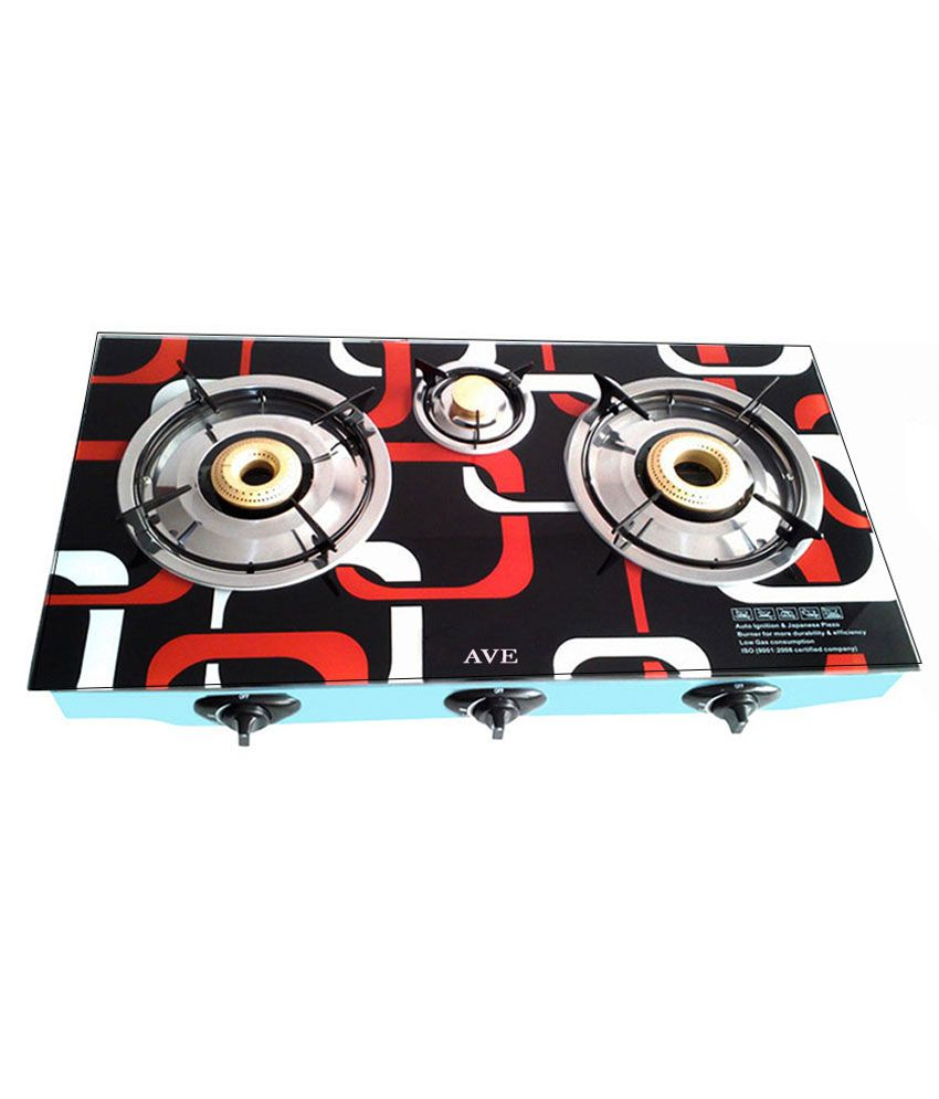 Surya AV0004 Automatic Gas Cooktop (3 Burner)