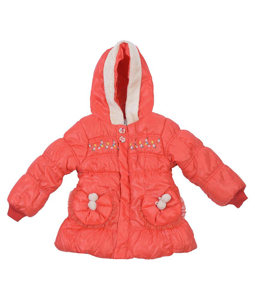Addyvero Red Padded Jacket For Girls