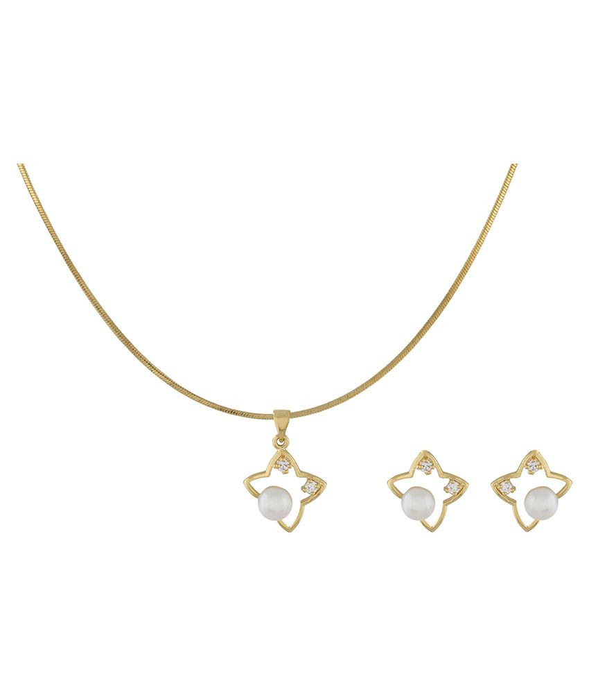 cz yellow vermeil white shape necklace in i fashion gold sterling pendant over star sil