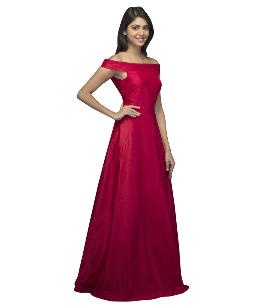 Fabulous Silk Pink Silk Gowns - Buy Fabulous Silk Pink Silk Gowns ...