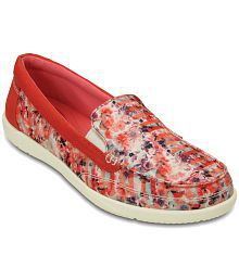 Crocs Red Casual Shoes Standard Fit