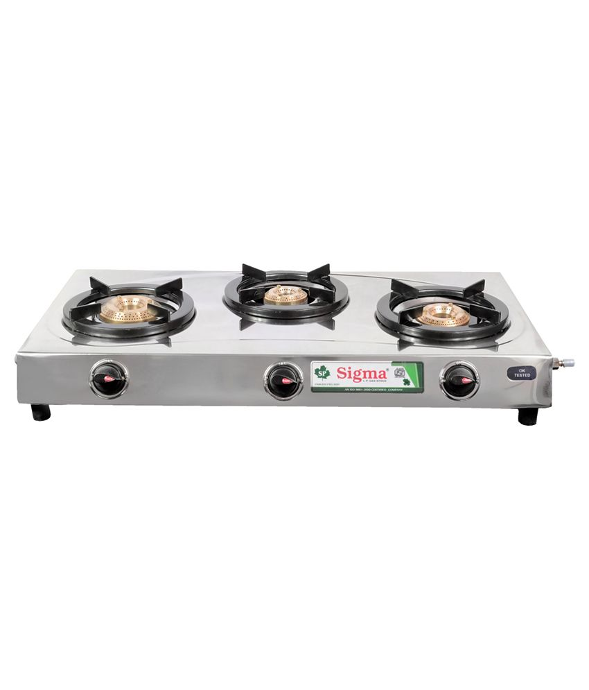 Sigma-SKW00301-Manual-Ignition-Gas-Cooktop-(3-Burners)