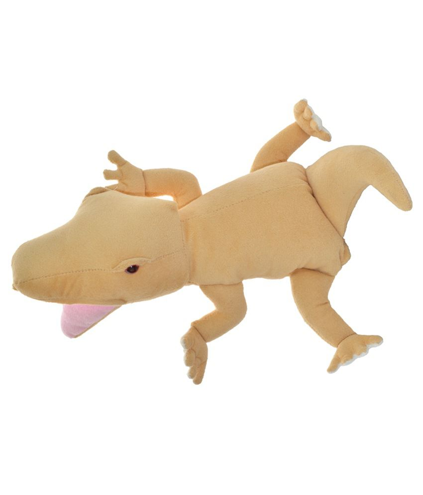 Cuddly Toys Cuddly Toys Brown Polyester Insect Lizard Hand Puppet