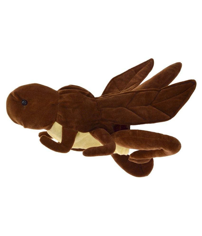 Cuddly Toys Cuddly Toys Brown Polyester Insect Cricket Hand Puppet