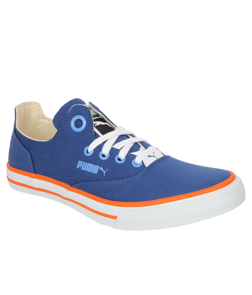 Puma Blue Casual Shoes Price in India- Buy Puma Blue ...