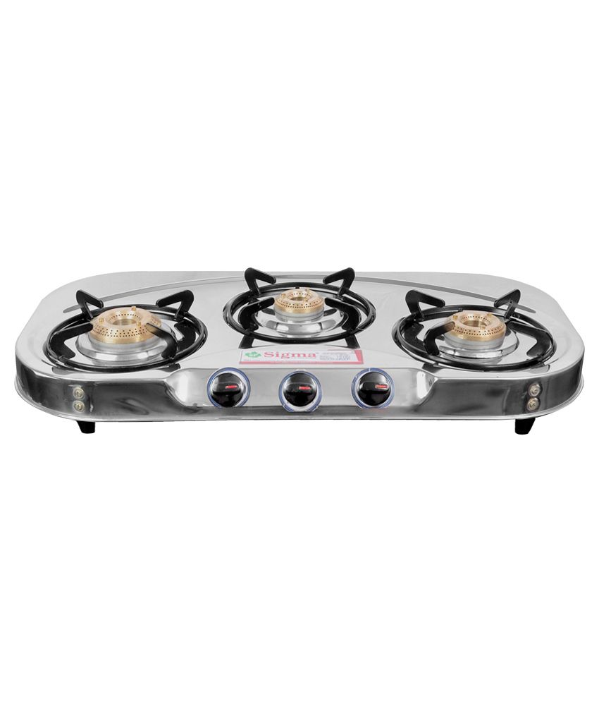 Sigma-SKW00304-Manual-Ignition-Gas-Cooktop-(3-Burners)