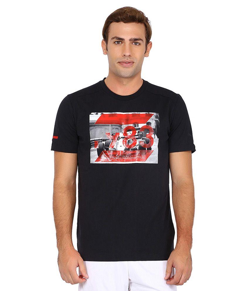 Puma Black Ferrari T Shirt