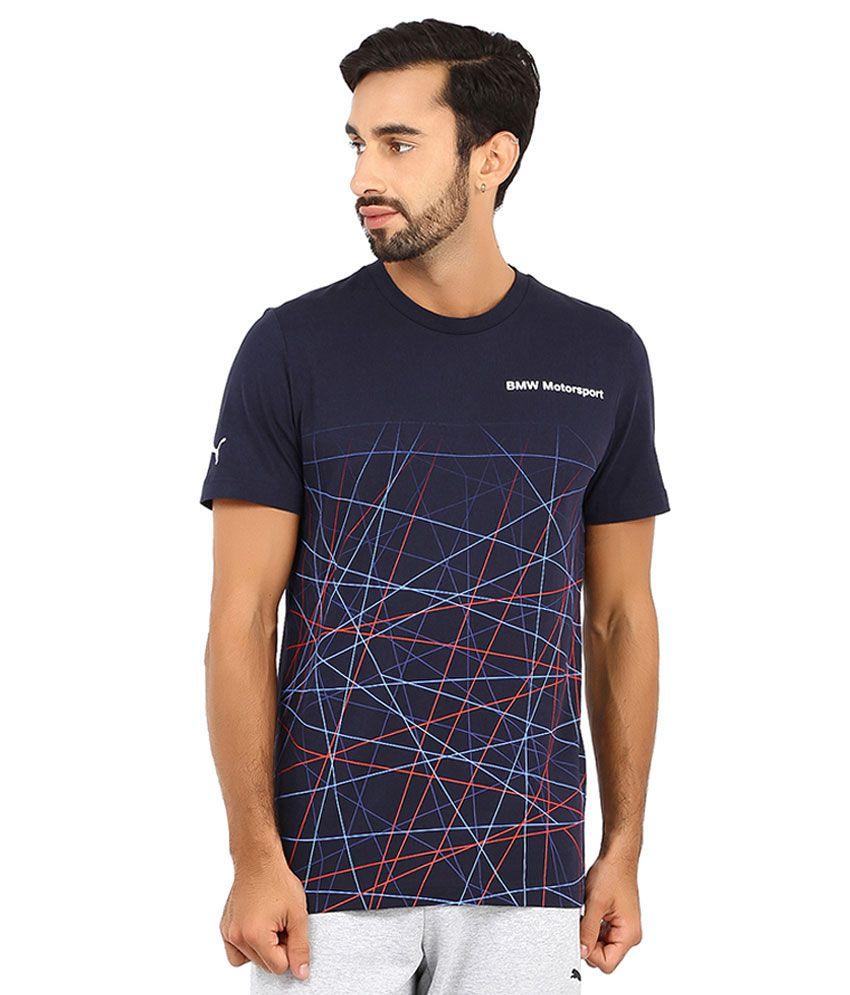 Puma Blue BMW Motosport T Shirt