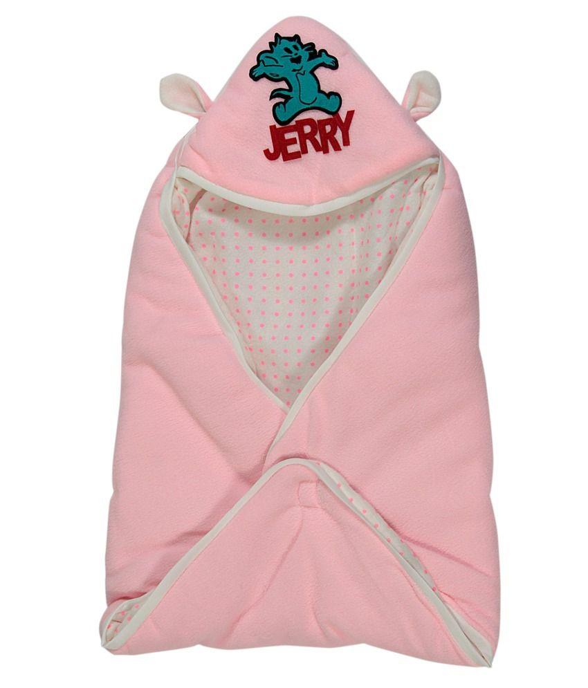 Casa Confort Pink Cotton Baby Wrap