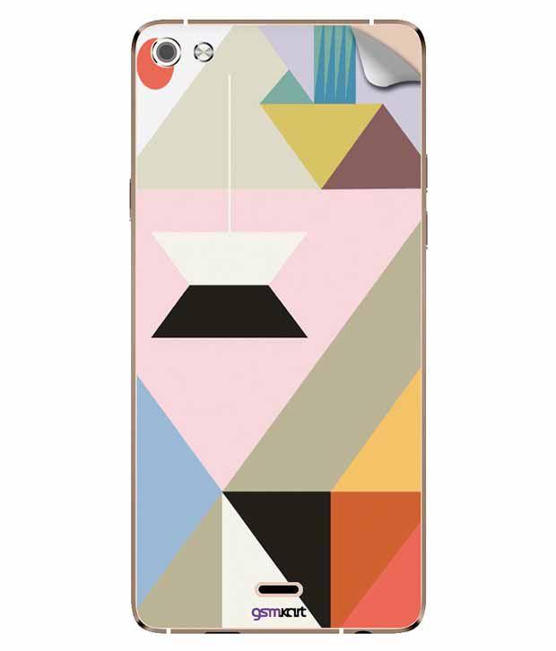 Gsmkart Mobile Sticker For Micromax Canvas Silver 5 - Multicolor