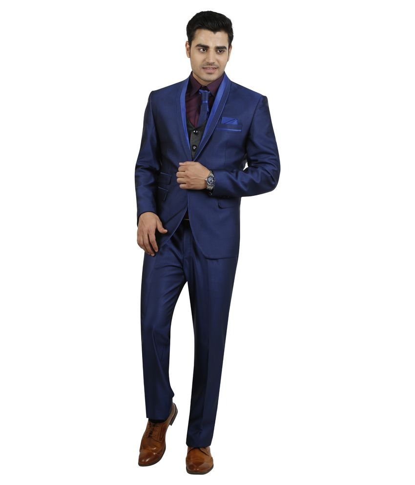 Zonic Blue Party Suits