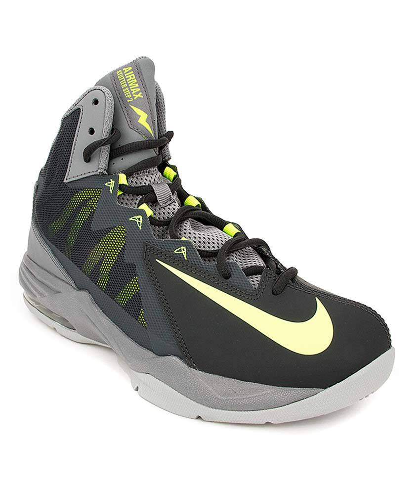 ed6736c5 Nike Gray Basketball Shoes - Buy Nike Gray Basketball Shoes Online at Best  Prices in India on Snapdeal