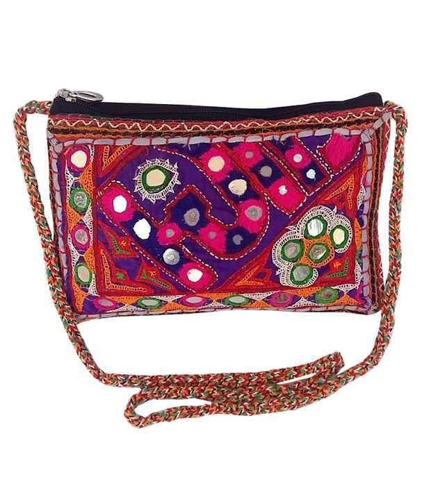 2c707df816ca2 Chokhi Chori Handmade Rajasthani Vintage Ethenic Bags -Banjara - Sling Bag  - Buy Chokhi Chori Handmade Rajasthani Vintage Ethenic Bags -Banjara -  Sling Bag ...