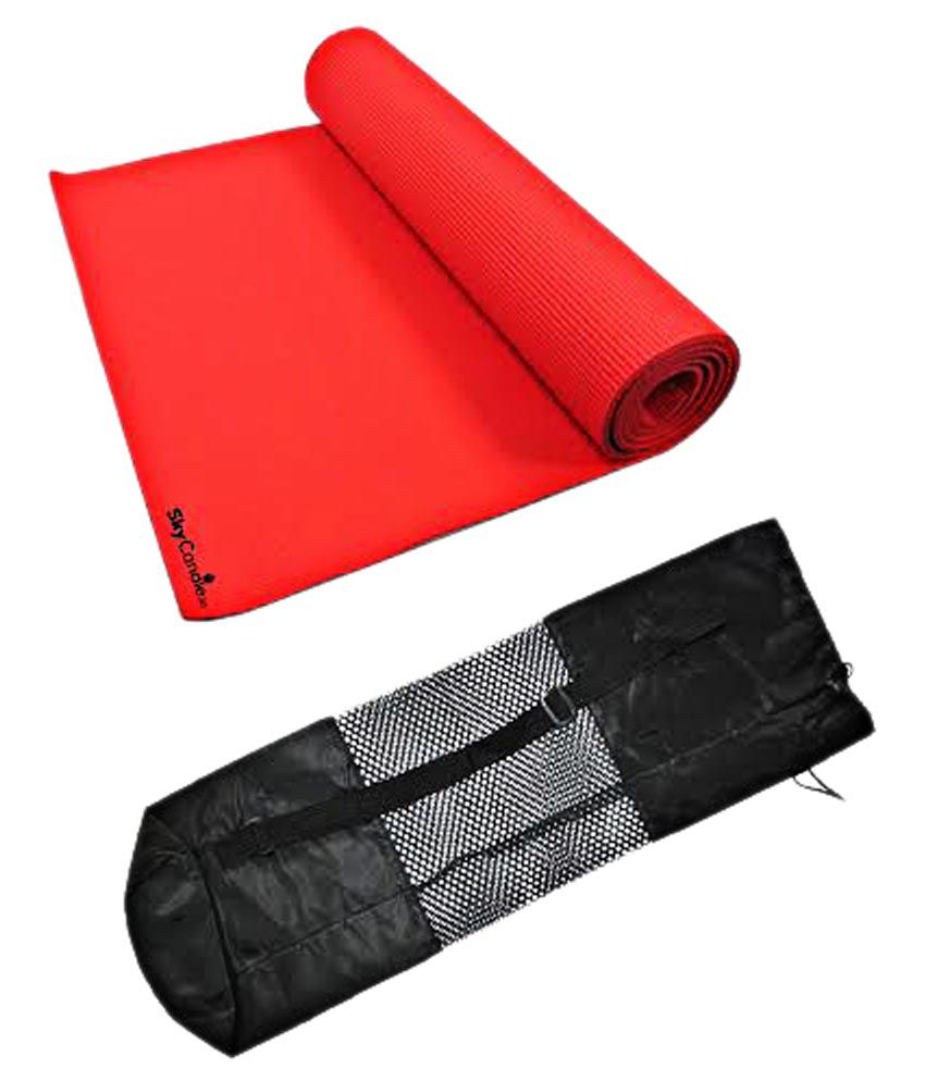 Skycandle Yoga & Exercise Mat With Bag