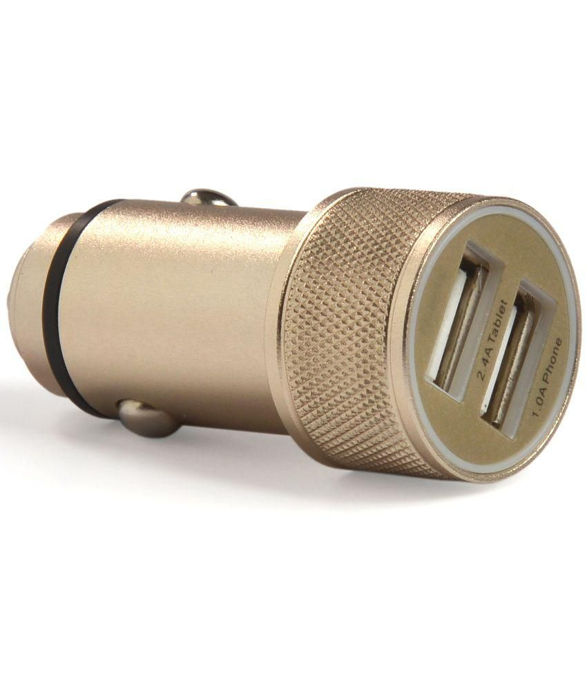 AccuCharger DCC-101 2.4A Dual USB Car Charger