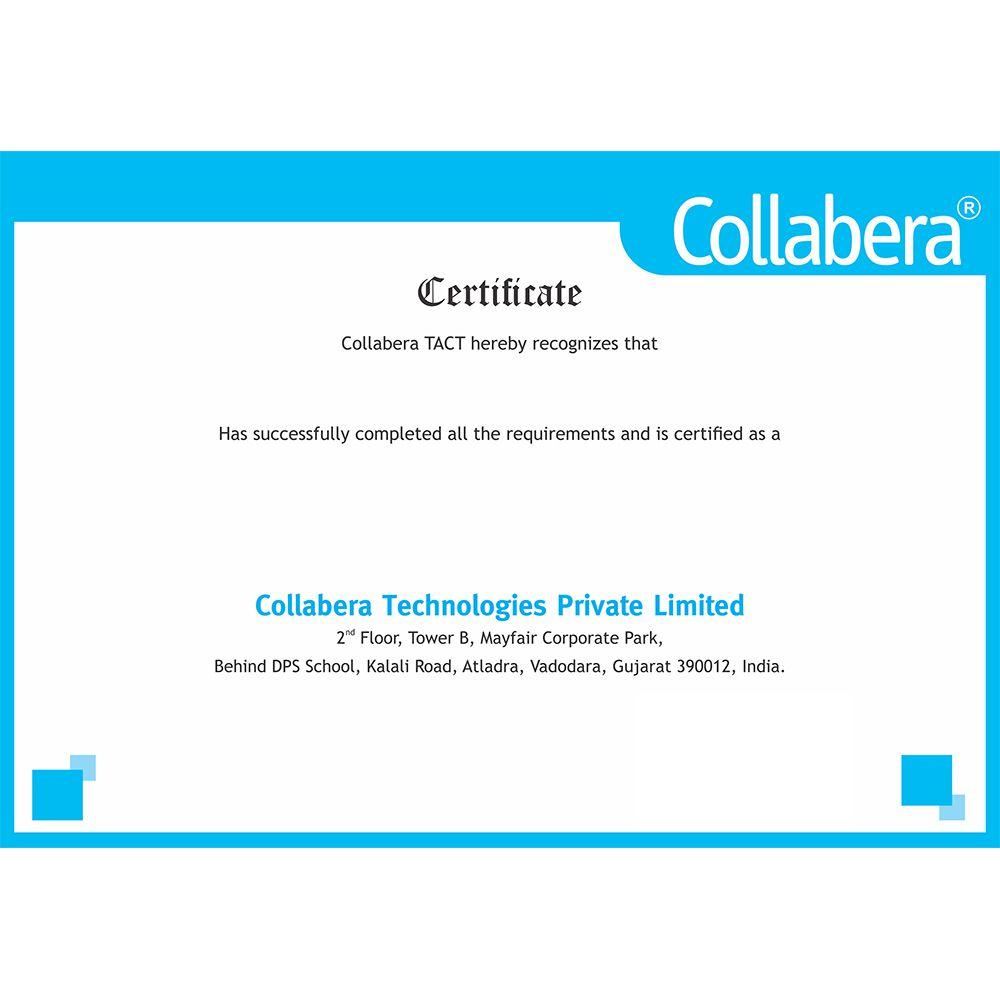 Collabera Tact Big Data Hadoop Developer Online Training With