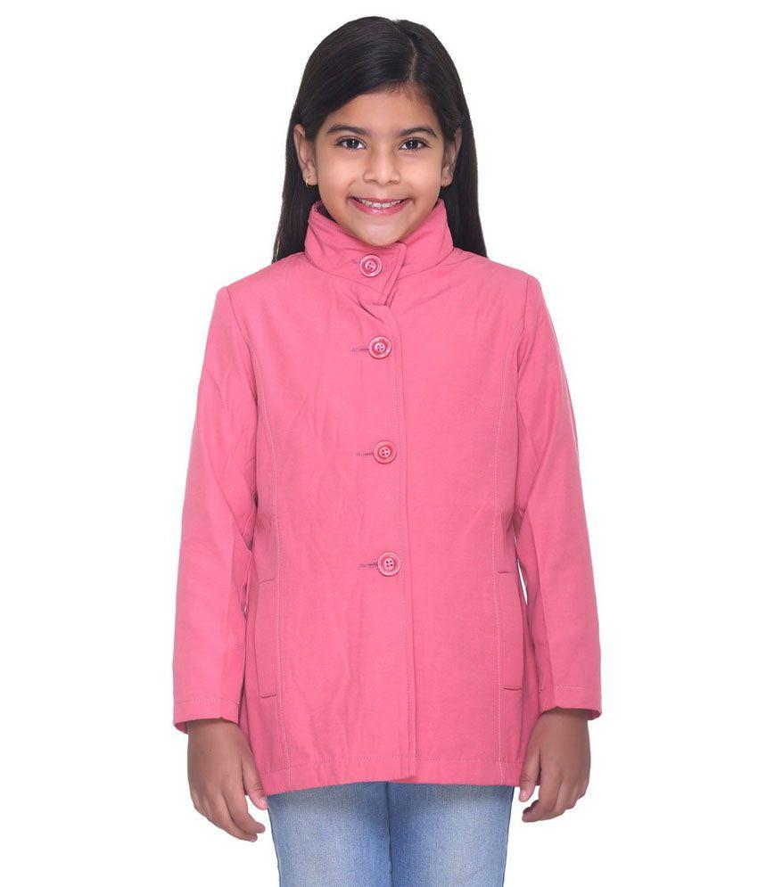 Kids-17 Pink Cotton Coats